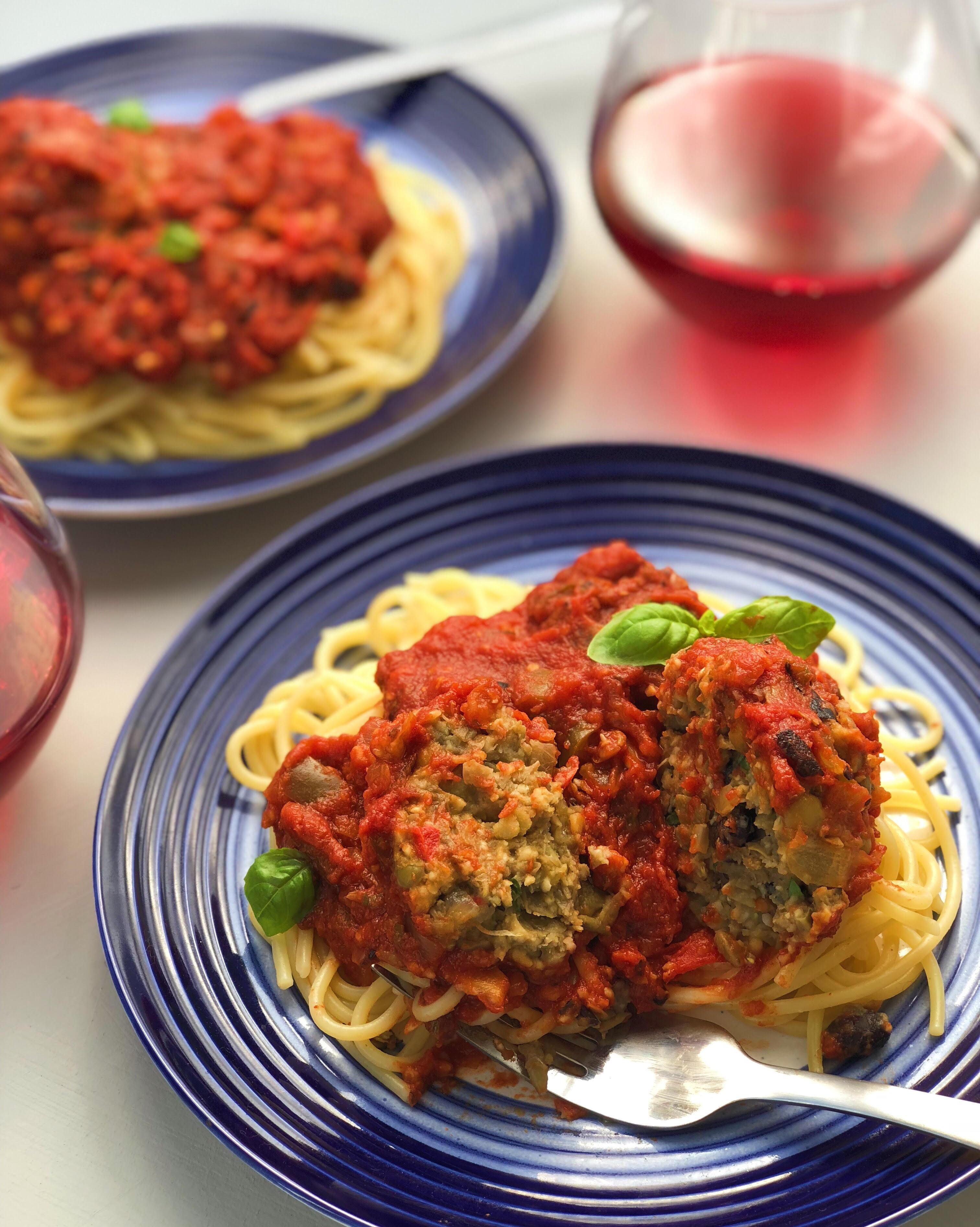Spaghetti and 'Meatballs'