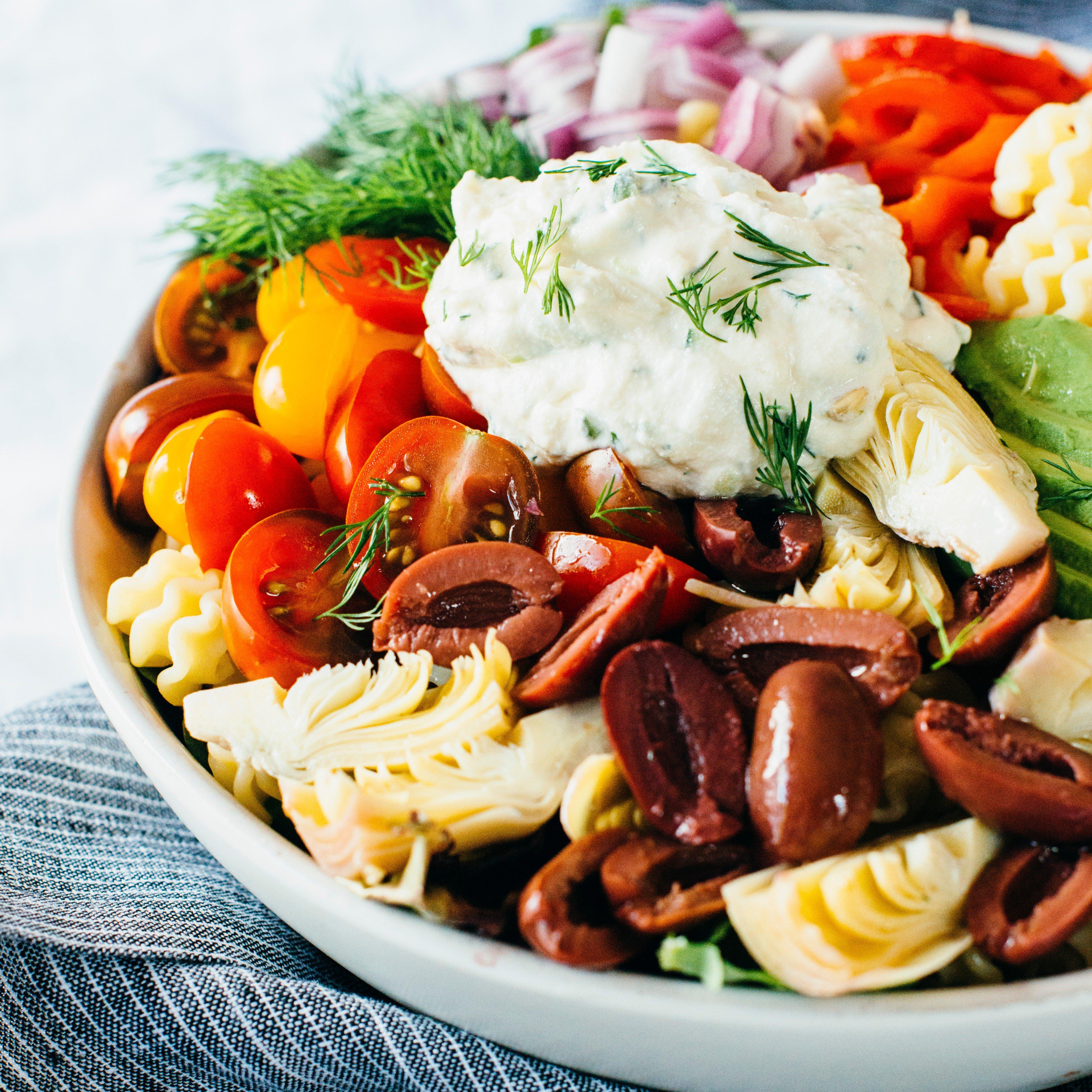 Creamy Vegan Pasta Salad