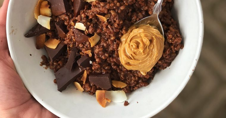 Chocolate Steel Cut Oats