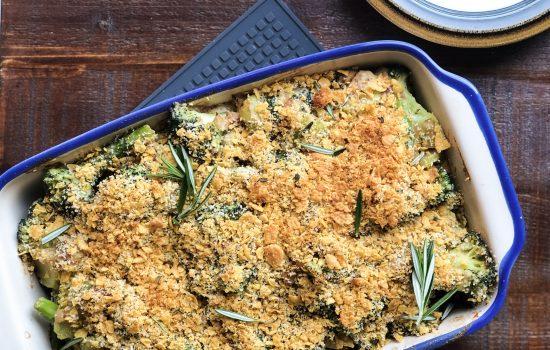 Creamy Vegan Broccoli Casserole