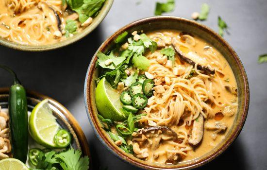 Thai Peanut Noodle Soup