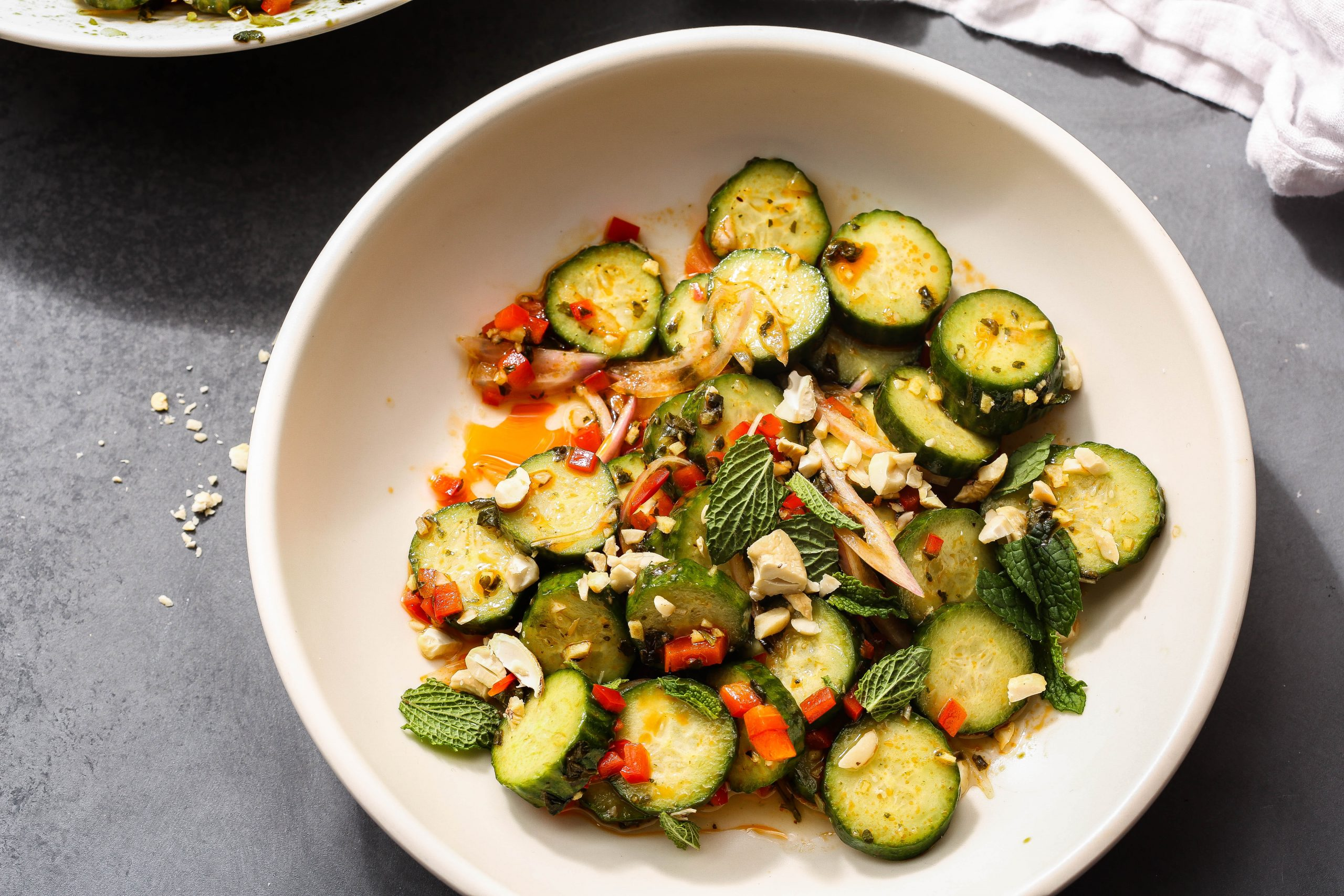 Easiest Cucumber Salad