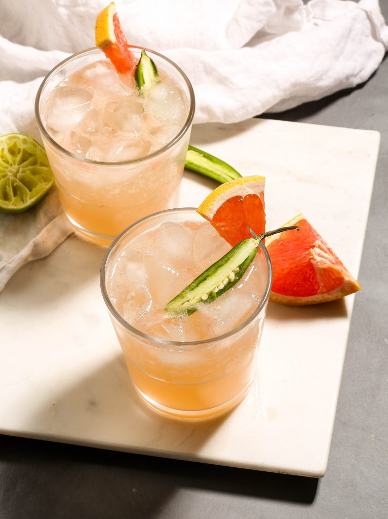 Grapefruit Serrano Crush