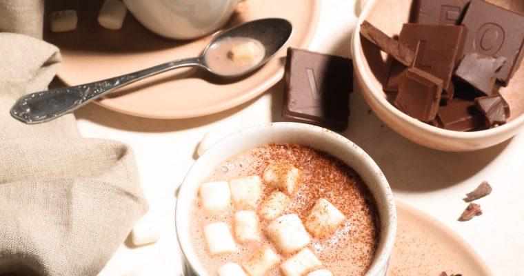 Superfood Vegan Hot Chocolate