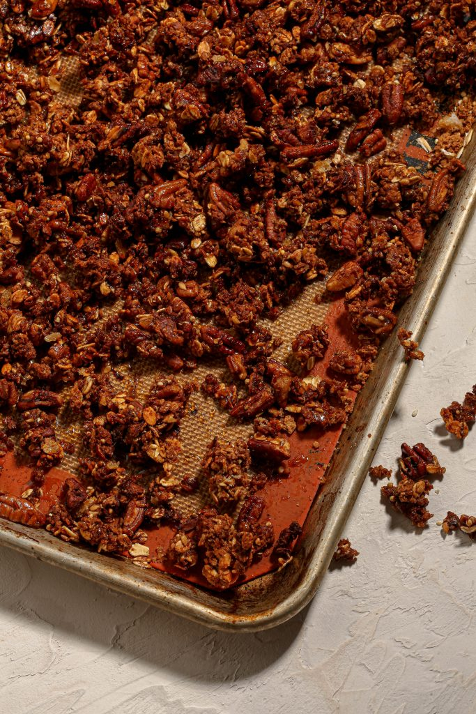 Apple Pie Spiced Granola