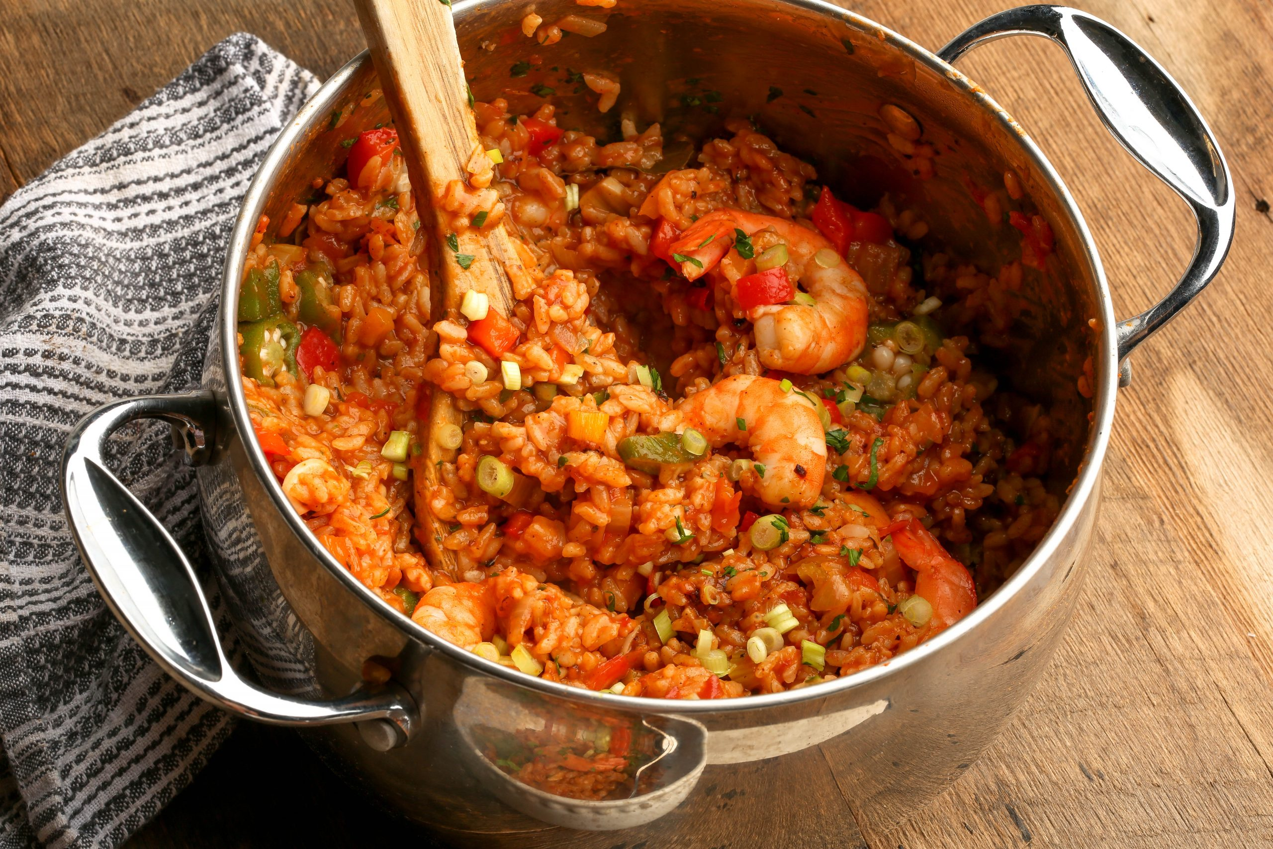Shrimp and Veggie Jambalaya