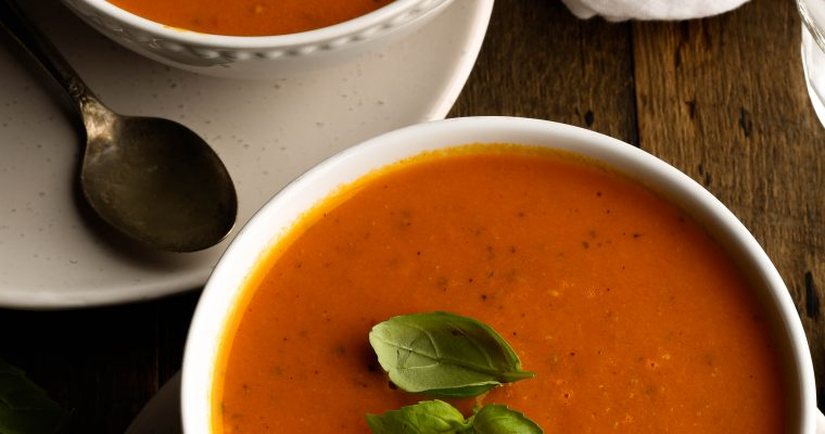 Slow Roasted Tomato and Bell Pepper Soup